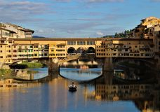 Quadro DA Ponte Vecchio lizenzfreie stockbilder
