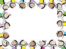 Quadro das crianças ilustração do vetor