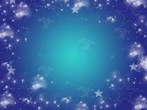 Quadro das estrelas ilustração stock