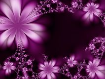 Quadro das flores Imagem de Stock