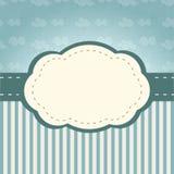 Quadro das nuvens Fotos de Stock Royalty Free