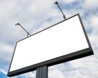 Quadro de avisos do anúncio ao ar livre fotografia de stock