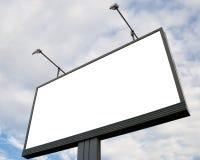 Quadro de avisos do anúncio ao ar livre Imagem de Stock