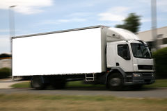 Quadro de avisos do caminhão Imagem de Stock