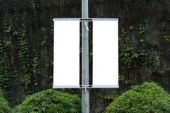 Quadro de avisos na rua Fotos de Stock
