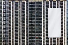 Quadro de avisos - projeto urbano Fotos de Stock Royalty Free
