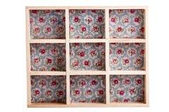 Quadro de caixa de madeira Foto de Stock