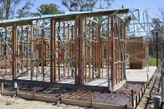 Quadro de construção Imagens de Stock Royalty Free