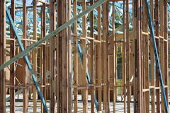 Quadro de construção Imagens de Stock