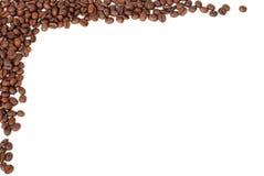 Quadro de feijões de café Imagem de Stock Royalty Free
