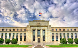 Quadro de governadores em Washington, D de Federal Reserve C imagem de stock