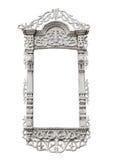 Quadro de janela cinzelado imagem de stock royalty free