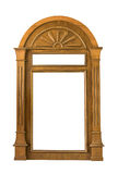 Quadro de janela de madeira Imagens de Stock Royalty Free