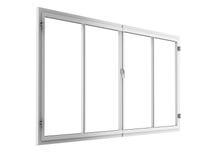 Quadro de janela isolado no branco fotos de stock royalty free