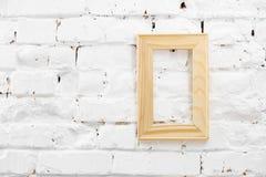 Quadro de madeira Imagem de Stock