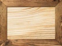 Quadro de madeira Fotos de Stock Royalty Free