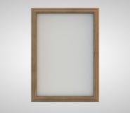 Quadro de madeira Imagem de Stock Royalty Free