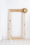 Quadro de madeira Fotografia de Stock Royalty Free