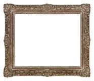 Quadro de madeira antigo para fotos e arte imagem de stock royalty free