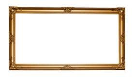 Quadro de madeira clássico do retângulo do vintage foto de stock royalty free