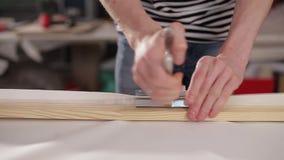 Quadro de madeira da tensão da lona filme