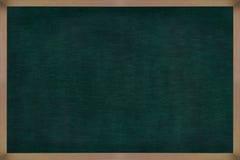 Quadro de madeira do quadro com superfície do preto Fotografia de Stock Royalty Free
