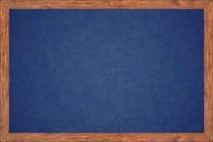 Quadro de madeira do quadro com superfície do preto Foto de Stock