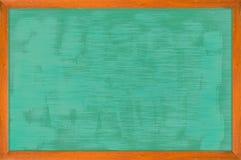 Quadro de madeira do quadro com superfície do preto Fotografia de Stock
