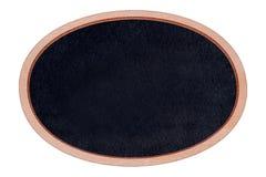 Quadro de madeira do quadro da forma com superfície do preto Foto de Stock Royalty Free