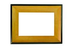 Quadro de madeira isolado imagem de stock