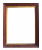 Quadro de madeira muito velho Imagens de Stock