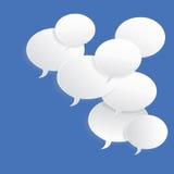 quadro de mensagens Fotos de Stock