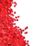 Quadro de papel dos corações Fotografia de Stock Royalty Free