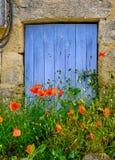 Quadro de porta francesa imagens de stock