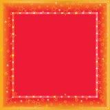 Quadro de quadro da estrela do ouro Foto de Stock