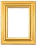 Quadro de retrato em um fundo branco Imagens de Stock Royalty Free
