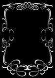 Quadro decorativo da concessão Elemento do projeto Imagem de Stock Royalty Free