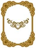 Quadro decorativo da concessão Elemento do projeto Fotos de Stock Royalty Free