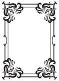 Quadro decorativo da concessão Elemento do projeto Foto de Stock Royalty Free