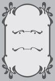 Quadro decorativo da concessão Elemento do projeto Fotografia de Stock Royalty Free