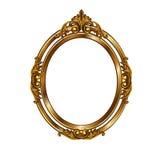Quadro decorativo da cor dourada Fotografia de Stock