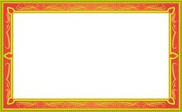 Quadro decorativo do vetor do projeto Foto de Stock Royalty Free