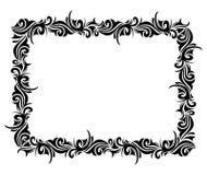 Quadro decorativo quadrado ilustração stock