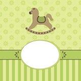 Quadro do bebê Imagem de Stock Royalty Free