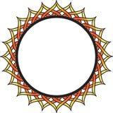 Quadro do círculo Imagem de Stock