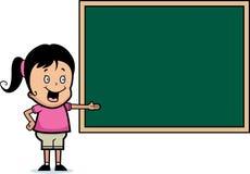 Quadro do estudante ilustração stock