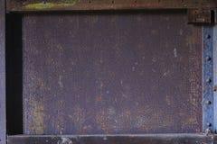 Quadro do ferro da oxidação e do vintage Fotografia de Stock Royalty Free