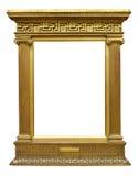 Quadro do grego do ouro Imagens de Stock Royalty Free