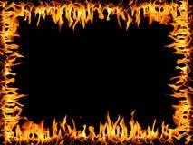 Quadro do incêndio Fotos de Stock Royalty Free