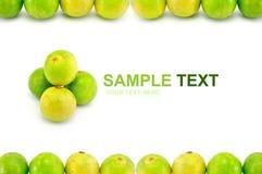 Quadro do limão Imagens de Stock Royalty Free